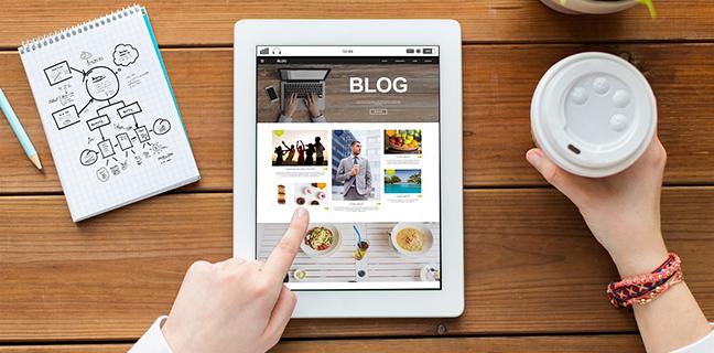 Qual a importância do blog no site da sua empresa?